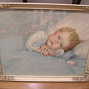 Heavens Gift-Baby Print-Annie Benson Muller