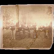 Civil War Photograph-Union Soldiers