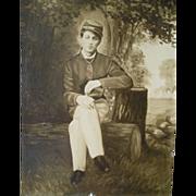 Civil War Soldier Photograph