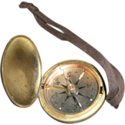 SOLD Brass Compass:United States Civil Engineers