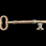 SOLD Brass Skeleton Key