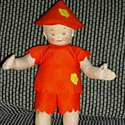REDUCED Merrythought Doll  Cora Goffin as Aladdin Doll  ca. 1937