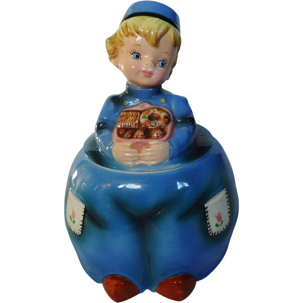 Lefton Dutch Boy Cookie Jar From Sweetcandy On Ruby Lane