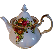 REDUCED Royal Albert Old Country Roses Large Teapot