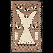 SALE Navajo Weaving Peyote Bird / NRA Eagle, ca. 1930