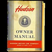 1948 Hudson Motor Car Owner Manual