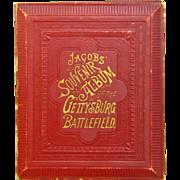 Gettysburg Battlefield Souvenir Album , G.E. Jacobs, 1889