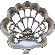 P.W. Ellis Sterling Silver Bon Bon Spoon Louis XV