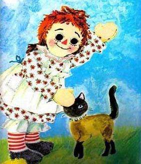 1970's ' Raggedy Andy' The I Can Do  Do It, You Can It, SCARCE - Golden Book, Raggedy Ann, Vintage