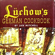 SOLD 1965 'Luchow's German Cookbook' DJ, Ludwig Bemelmans, New York Restaurant