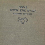 SOLD 1936 'Gone with the Wind' Margaret Mitchell, Collector's - TRUE 1st Edition, Stated June,