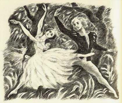 1977 1st Ed `Giselle' Ballet DJ 1st Printing, Violette Verdy - Marcia Brown Art , Dance, Prima Ballerina