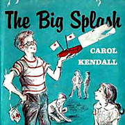 RARE 1960 1st Ed 'The Big Splash' w/ DJ Mystery – Illustrated / Out-Of-Print / Vintage
