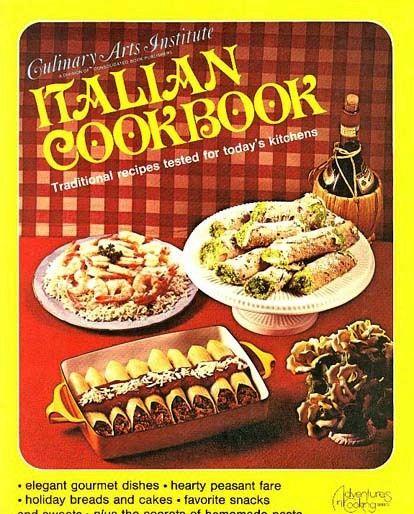 1977 'Italian Cookbook' 1st Ed, Culinary Arts Institute, First Printing, Illustrated, Vintage