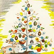 SOLD RARE 1950 'The Egg Tree' 1st Ed, DJ, Easter Holiday, Katherine Milhous Folk Art, Caldecot