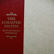 SOLD SIGNED Scottie Fitzgerald 'The Romantic Egoists' 1974 Limited Edition, F. Scott & Zelda F