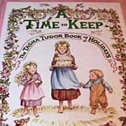 SOLD A Time to Keep: The Tasha Tudor Book of Holidays, 1977 1st Ed, Corgi Dog, Illustrations