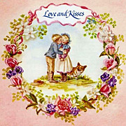 SOLD Tasha Tudor 'All for Love' RARE 1984 1st Ed, 1st Printing – Poetry, Recipes, Songs, Rom
