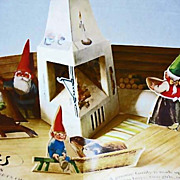 SOLD 1983 'Pop-Up Book of Gnomes and Their Families' 1st Ed, 1st Printing - Rien Poortvliet Il