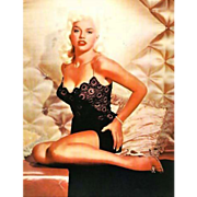 SOLD 1972 Pin-Up Girl , 1st Ed, DJ, Cheesecake, Magazine, Calendar, Vargas, Movie