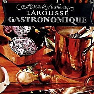 1961 'Larousse Gastronomique' Prosper Montagne, 1st Ed, DJ, Food, Wine, Cookery, French, MINT Unused Pages