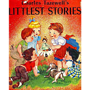 SALE Charles Tazewell's 'Littlest Stories' 1962 1st Ed, DJ, RARE First Printing, Christmas, Il