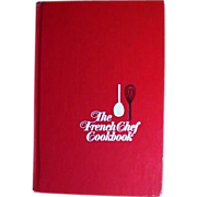 SOLD 1968 JULIA CHILD 'The French Chef Cookbook' First Edition, Master Chef