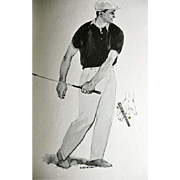 SOLD 1964 'Golf Magazine's Your Long Game' Gene Sarazen, Illustrated 1st Ed, DJ, Jimmy D