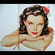 SOLD 1978 Alberto 'Vargas', DJ, 1st Ed, Erotic Art, Pin-Up Girl, Playboy Magazine, Esquire, Ch