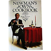Rare Paul Newman SIGNED 'Newman's Own Cookbook' 1985 First Edition, DJ, Photographs, Entertainment, Sundance, Celebrity Recipes