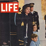 SOLD 1963 Life Magazine - President John F. Kennedy Funeral - Vintage December 6th