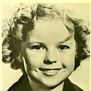 SOLD SCARCE 1950's Shirley Temple Hollywood Studio Photograph - Movie Memorabilia / Child Star