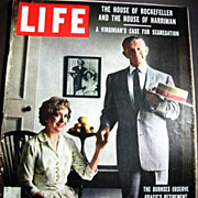 SOLD Sept. 22, 1958 Life Magazine HOLLYWOOD - George & Gracie Burns - Elizabeth Taylor