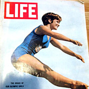 RARE July 31, 1964 LIFE Magazine OLYMPICS - Barbara Talmage / Sports / Peter Sellers / Politics