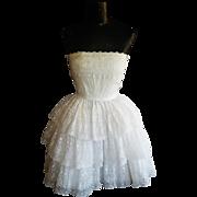 1950's LANZ  Party Dress XS