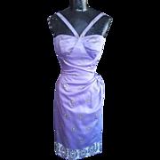 1950's Alfred Shaheen Hawaiian Sarong Style Dress xxs