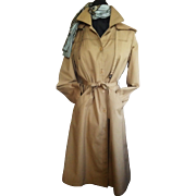 "London Fog ""Maincoat"" Hood and Fleece Lining 14 Reg"