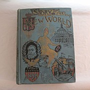 SALE Vintage Book Story of the New World History of USA from Discovery of Continent ...
