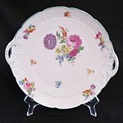 "20% OFF Vintage Porcelain T.K. Thuny Czechoslovakia 9 1/4"" Serving Plate 1918-1945 Mint Condition"