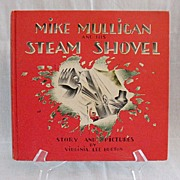 SALE Vintage Collectible   Book Mike Mulligan & HIs Steam Shovel Excellent Condition No Dust J