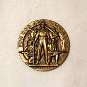 SALE Vintage Collectible American Legion Medal School Award 1950-60s Excellent Condition