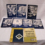 SALE (9) Vintage Pamphlet Guides For Cub Scout Leaders