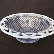 Vintage Collectible Imperial Katy Blue 7 1/2  Inch Bowl 1930s Mint Condition