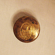 SALE Extremely Rare Vintage John Deere Copper Tin for Rouge Polishing Compound Early 1900s Exc