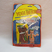SALE Vintage Collectible Yogi Bear World Champion Sky Diver Very Good Condition 1977