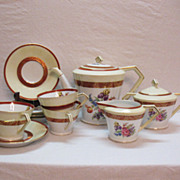 SALE Vintage Noritake 11 Piece Tea Set 1950-60s  Floral Motif Very Good Condition