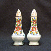 Vintage Collectible Tall Lustre Ware Ceramic S & P Shakers by T-T of Japan 1920 ...