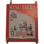Set of 5 Vintage Mini Books Tales of Long Ago Original Holder First Edition Very Good Conditio