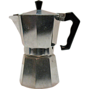 SALE Vintage One Cup Moka Coffee Pot by Marimba from the 1950s