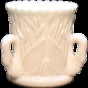 SALE PENDING Vintage Westmoreland Milk Glass 3 Swan Toothpick/Cigarette Holder 1980 Excellent